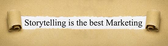 Storytelling erhöht die Verweildauer auf einer Webseite.